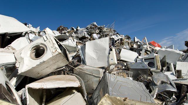 Dónde tirar los electrodomésticos para que se reciclen