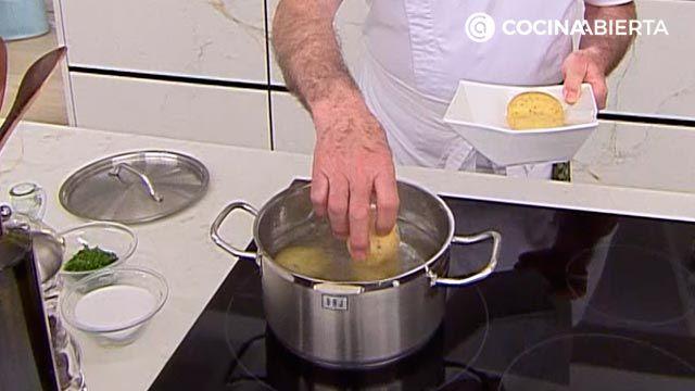 Espaldilla de ternera a la plancha con verduras por Karlos Arguiñano - paso 1