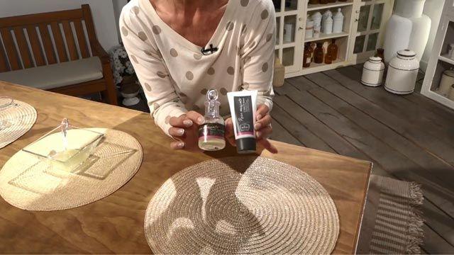Exfoliante casero para el cuidado de las manos - Rosa mosqueta