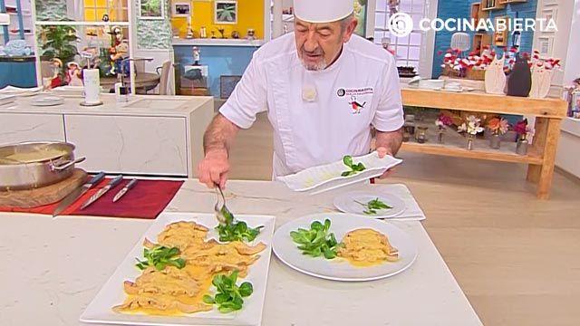 Medallones de conejo guisado con salsa de cítricos, la receta de Karlos Arguiñano - paso 6