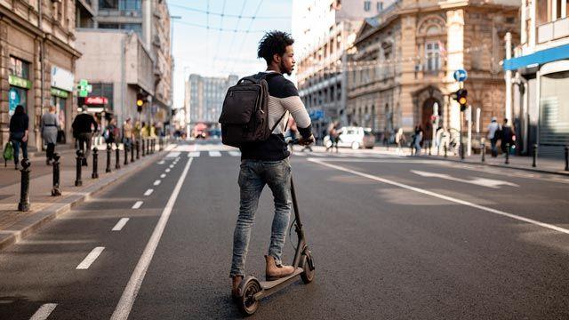 Velocidad máxima de los patinetes eléctricos