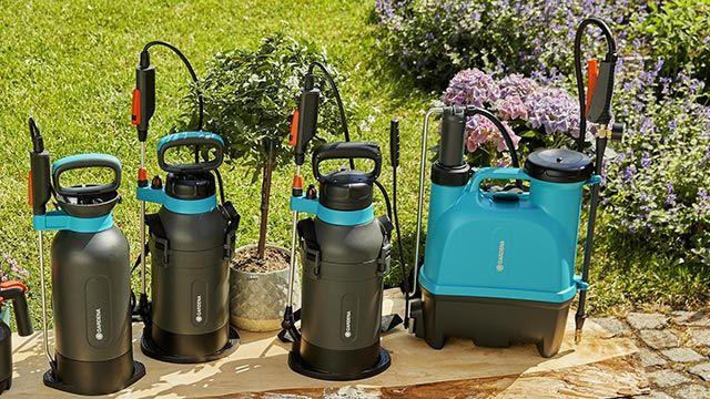 Pulverizadores para el jardín de Gardena