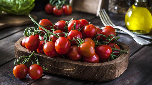 Recetas con tomates cherrys