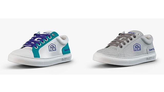 2 diseños de zapatillas SmylePets