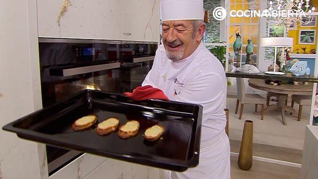 Sopa de ave con patata, receta fácil y rápida por Karlos Arguiñano - paso 4