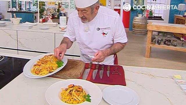 Tallarines con mejillones por Karlos Arguiñano - paso 4