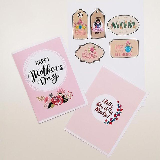 Tarjetas y postales para el Día de la Madre, ¡descárgalas gratis!