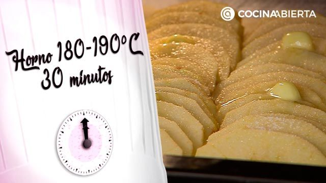 Tarta de manzana de la abuela por Karlos Arguiñanov - paso 4
