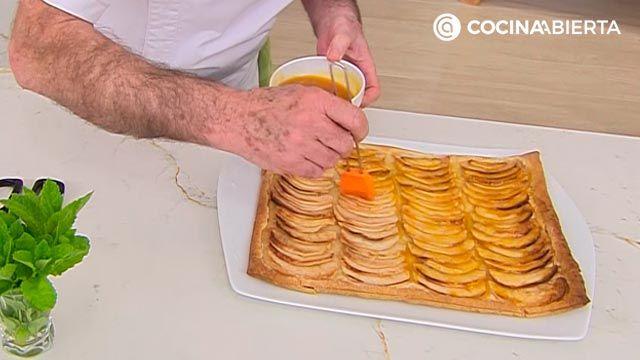 Tarta de manzana de la abuela por Karlos Arguiñanov - paso 5