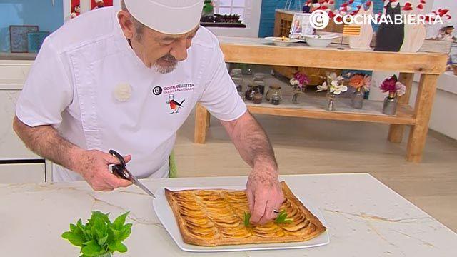 Tarta de manzana de la abuela por Karlos Arguiñanov - paso 6