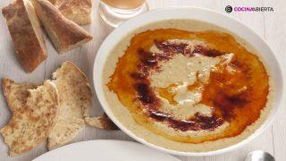 receta de hummus de lentejas