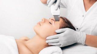 Beneficios del peeling ultrasónico rostro