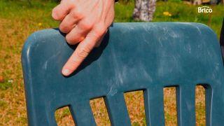 Recuperar silla de plastico