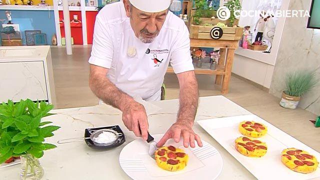 Clafoutis de fresa por Karlos Arguiñano, una tarta de origen francés muy fácil de hacer - paso 4