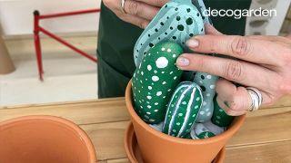 Cómo hacer cactus con piedras - Paso 7