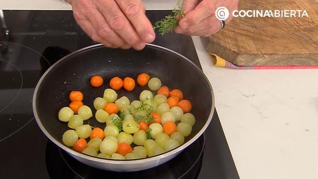 Conejo al horno con salsa barbacoa casera por Karlos Arguiñano - paso 5
