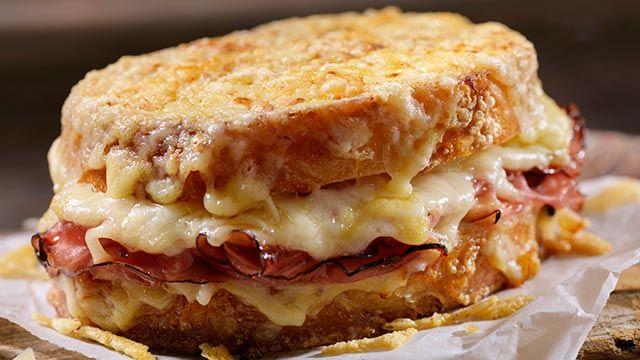 sándwich Croque-Monseiur