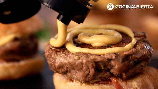 Mini hamburguesas de carne picada y queso - paso 5