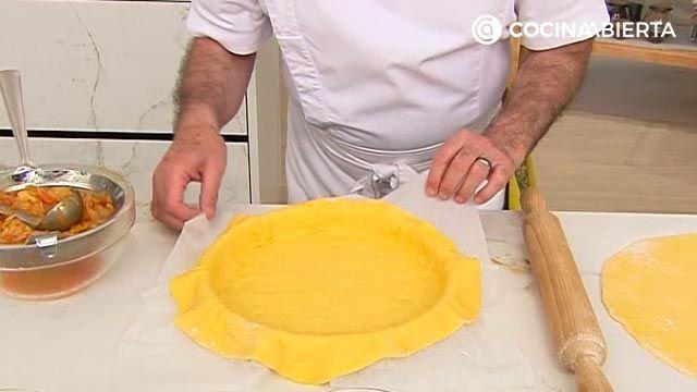 Empanada gallega de parrochas por Karlos Arguiñano, ¡con la auténtica masa casera! - paso 4
