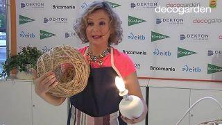 Cómo hacer lámparas con un globo y cuerda - Paso 7