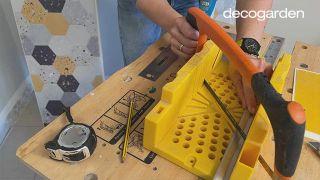 Friso de PVC para la cocina - Paso 3