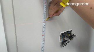 Friso de PVC para la cocina - Paso 4
