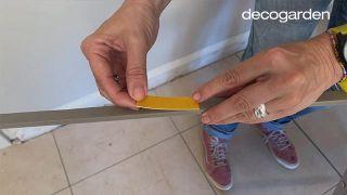 Friso de PVC para la cocina - Paso 6