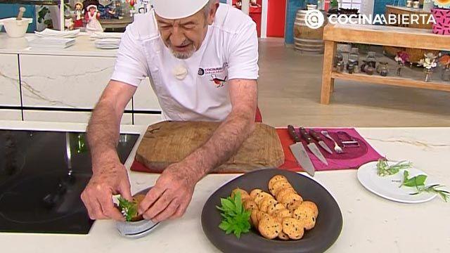 Galletas saladas de queso y aceitunas por Karlos Arguiñano - paso 5