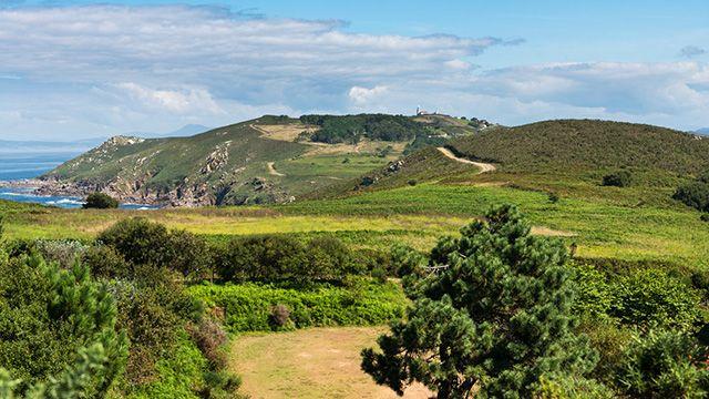 Isla Ons en el Parque Nacional de las Islas Atlánticas de Galicia