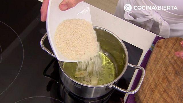 Dorada en adobo con arroz