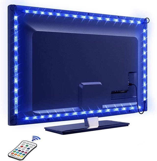Luces led gamer para el monitor