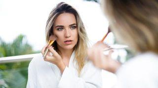Maquillaje resistente de larga duración y waterproof