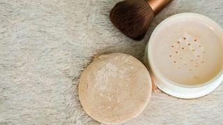 Maquillaje blindado (paso a paso) - Polvos traslúcidos