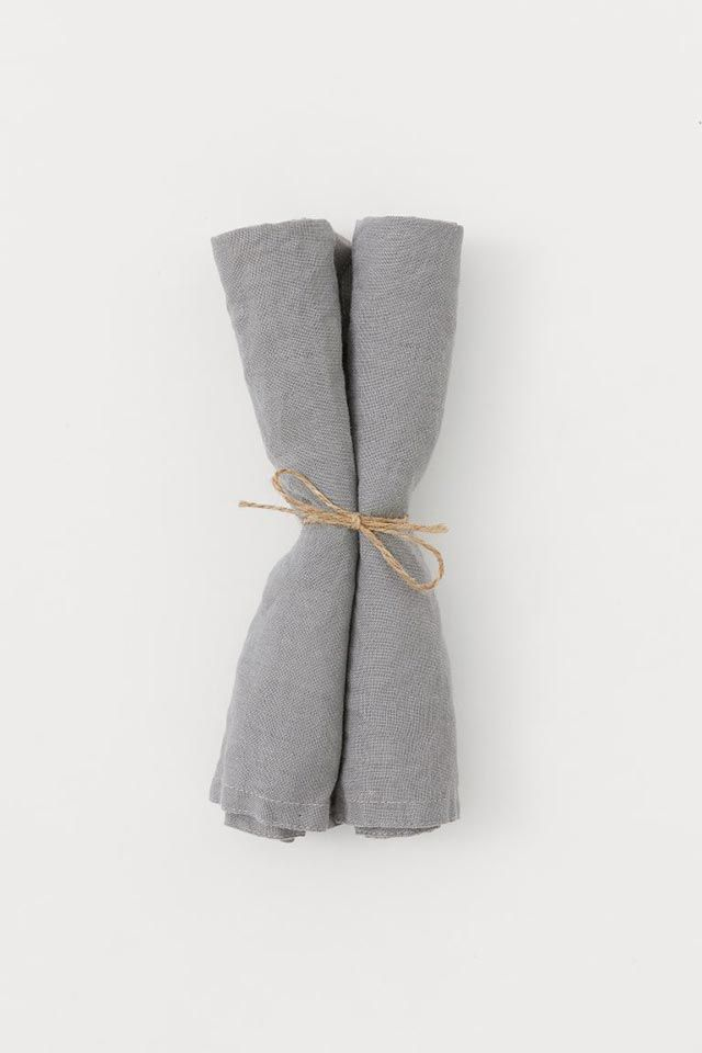 Pack de 2 servilletas de lino de H&M Home