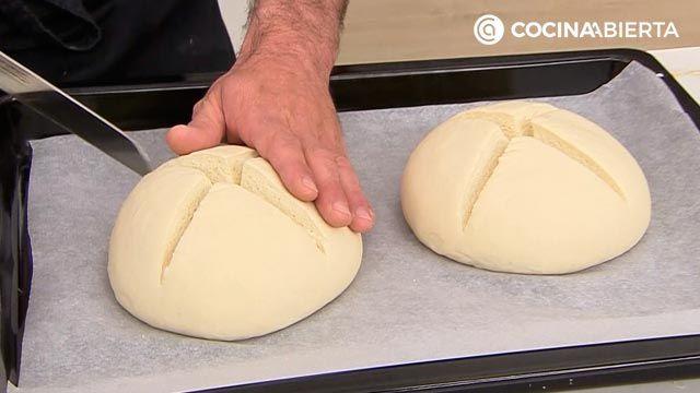 Pan de cruz, la receta de Joseba Arguiñano - paso 4