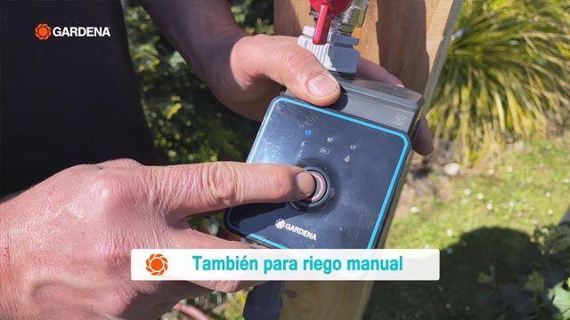 Riego manual del controladores de riego por Bluetooth® de Gardena