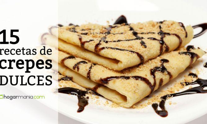 recetas y trucos para preparar crepes dulces