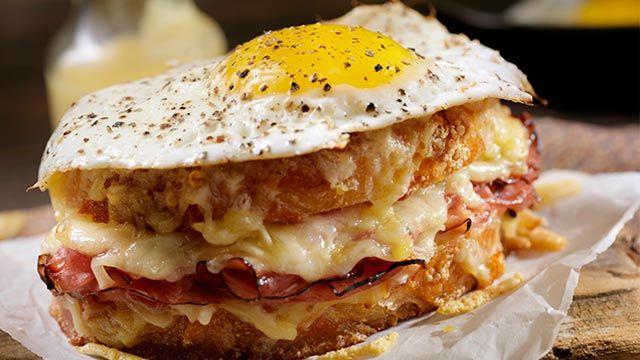 sándwich Croque-Madame