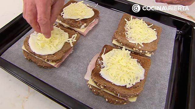 Croque-Madame, ¡la receta de Karlos Arguiñano!: el popular sándwich mixto francés gratinado con bechamel y huevo - paso 4