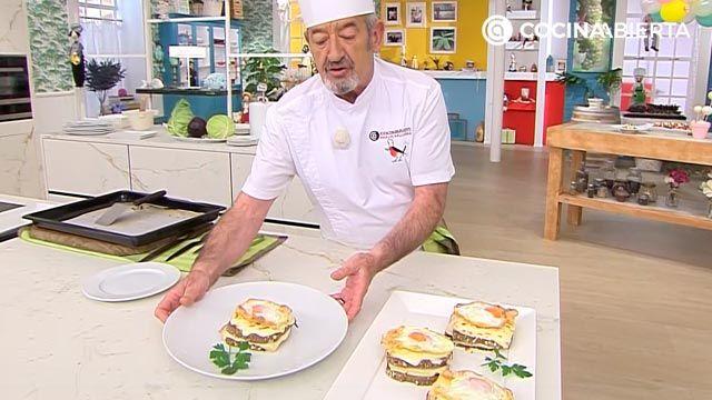 Croque-Madame, ¡la receta de Karlos Arguiñano!: el popular sándwich mixto francés gratinado con bechamel y huevo - paso 6