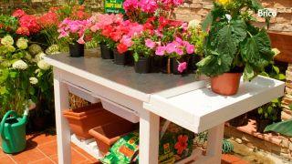 Mesa de jardinería