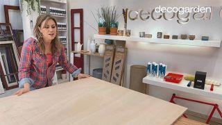 Cómo hacer un cabecero con revestimientos decorativos - Paso 1