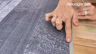 Cómo hacer un cabecero con revestimientos decorativos - Paso 11