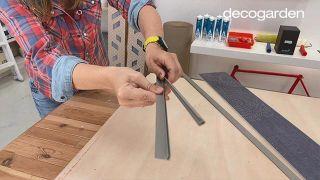 Cómo hacer un cabecero con revestimientos decorativos - Paso 3