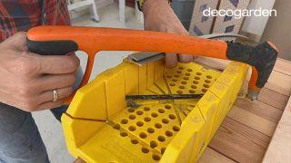 Cómo hacer un cabecero con revestimientos decorativos - Paso 4
