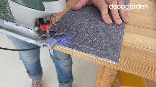 Cómo hacer un cabecero con revestimientos decorativos - Paso 7