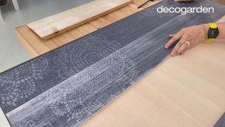Cómo hacer un cabecero con revestimientos decorativos - Paso 9