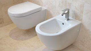 Bidet en el cuarto de baño