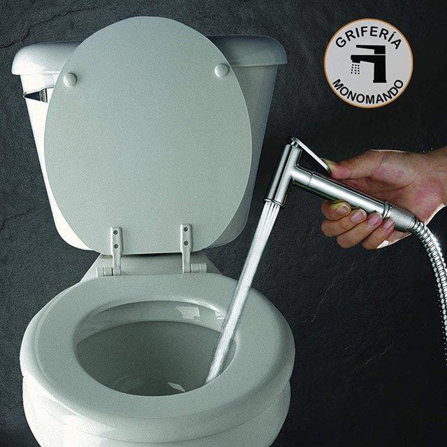 Ducha higiénica para el inodoro