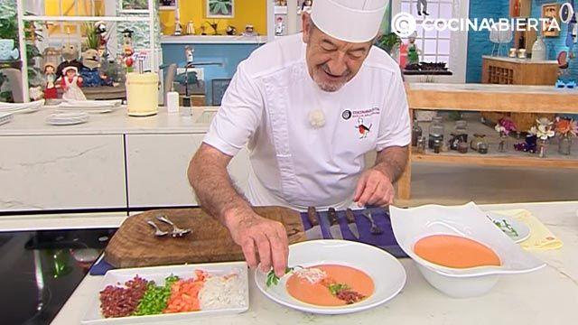 Gazpacho suave sin pepino por Karlos Arguiñano - paso 6